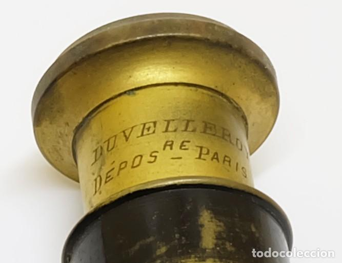 Antigüedades: S.XIX Binoculares Prismáticos Tom Pouce Duvelleroy Halbreck Miniatura, de ópera o bolsillo - Foto 4 - 117143843