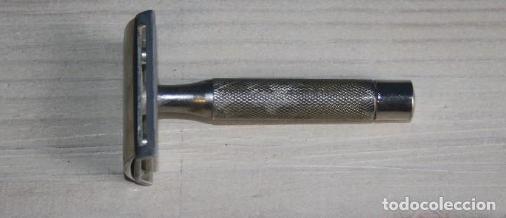 Antigüedades: Maquinilla de afeitar Maravilla - Micrométrica - Con caja estuche - Foto 2 - 117150547