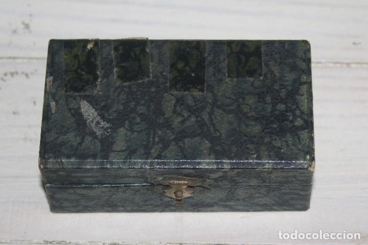 Antigüedades: Maquinilla de afeitar Maravilla - Micrométrica - Con caja estuche - Foto 4 - 117150547