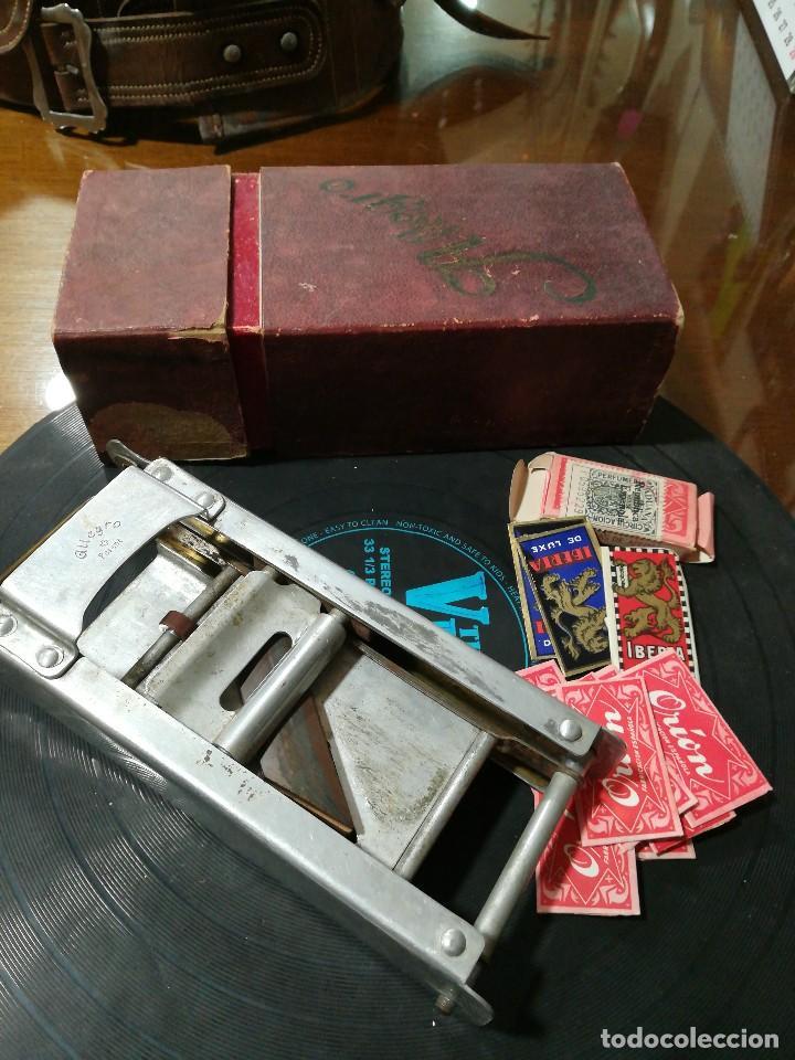 Antigüedades: Maquina de afilar navajas Allegro y cuchillas - Foto 3 - 117220299