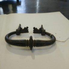 Antigüedades: ASA DE FORJA ANTIGUA S XVI. Lote 117224230