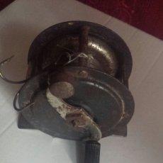 Antigüedades: CARRETE DE PESCA. Lote 117232262