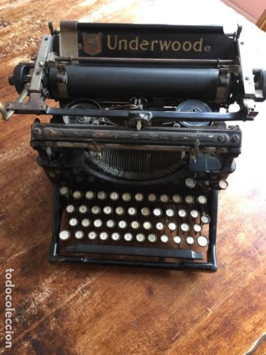Antigüedades: Máquina de escribir Underwood - Nº serie 1216281 - Foto 2 - 117243879