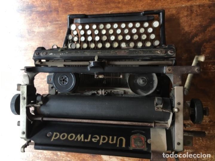 Antigüedades: Máquina de escribir Underwood - Nº serie 1216281 - Foto 4 - 117243879
