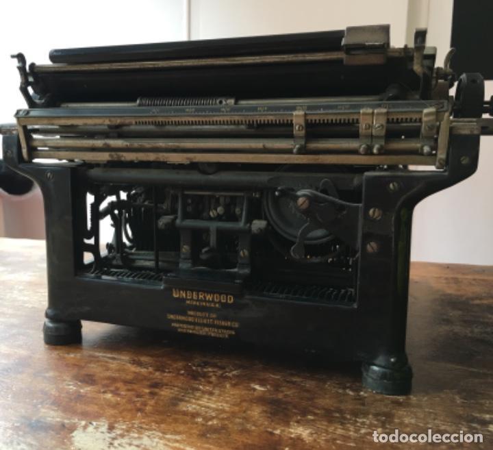 Antigüedades: Máquina de escribir Underwood - Nº serie 1216281 - Foto 5 - 117243879