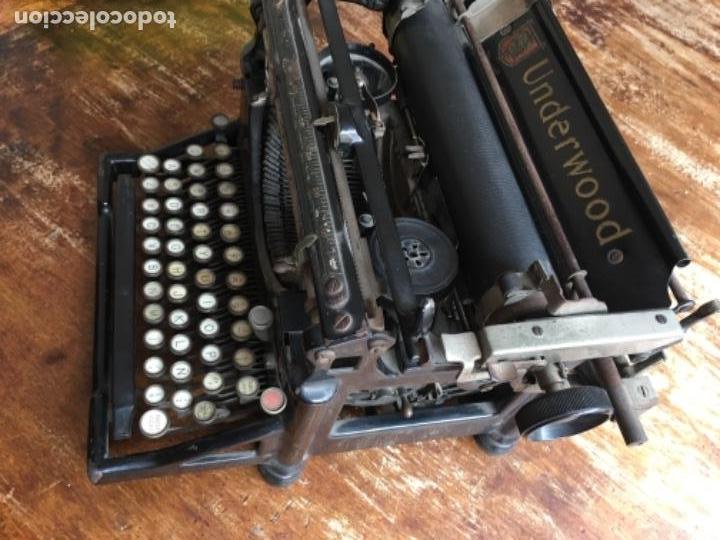 MÁQUINA DE ESCRIBIR UNDERWOOD - Nº SERIE 1216281 (Antigüedades - Técnicas - Máquinas de Escribir Antiguas - Underwood)