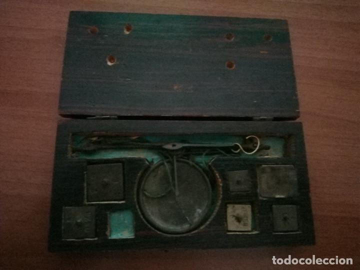 ANTIGUA BALANZA PEQUEÑA (Antigüedades - Técnicas - Medidas de Peso - Balanzas Antiguas)