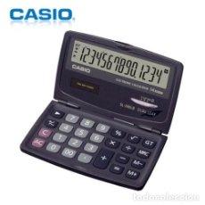 Antigüedades: CALCULADORA CASIO SL-240LB 14 DIGITOS DE BOLSILLO. Lote 117391927