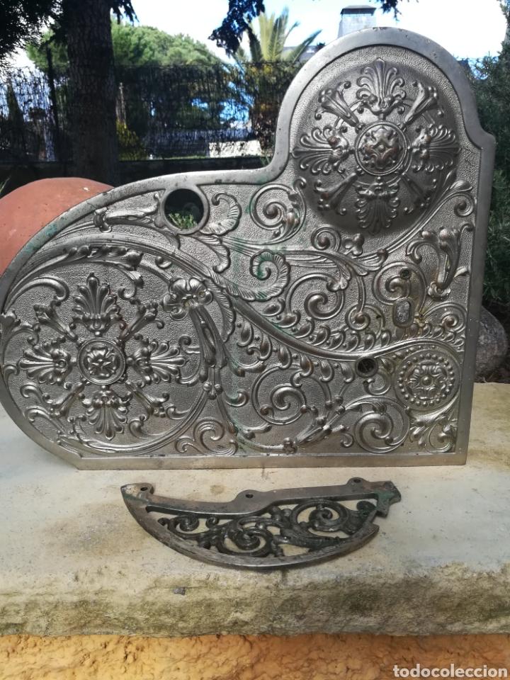 Antigüedades: Tapa y soporte de Registradora Nationa modelo 400...l - Foto 2 - 117469214