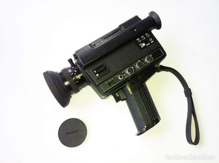 SANKYO SOUND XL-300S CÁMARA SUPER 8 (Antigüedades - Técnicas - Aparatos de Cine Antiguo - Cámaras de Super 8 mm Antiguas)