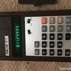 Antigüedades: CALCULADORA HOMELAND 8112 ELECTRONIC CALCULATOR JAPAN KREATEN. Lote 117570887