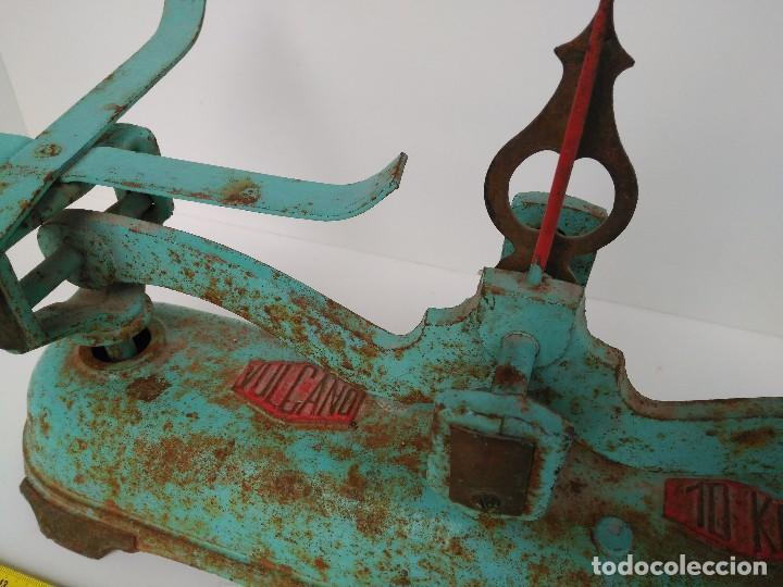 Antigüedades: Balanza antigua Vulcano de 10Kg - Foto 2 - 151496996