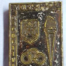 Antigüedades: AGRUPACIÓN DEPORTIVA ALCOY, ANTIGUO TAMPÓN. SELLO DE IMPRENTA.CUÑO DE MADERA. CLICHÉ.. Lote 117588383