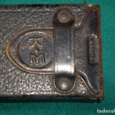 Antigüedades: CAJA DE REGLA DE CALCULO K+E 4031-3. Lote 117611675