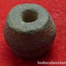 Antigüedades: PONDERAL DE BRONCE. Lote 117649707