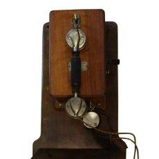 Teléfonos: TELÉFONO DE MADERA. Lote 117740891