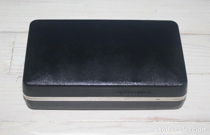 Antigüedades: Maquinilla de afeitar PHILISHAVE 3 DE LUXE con caja, estuche e instrucciones - Foto 12 - 117756447
