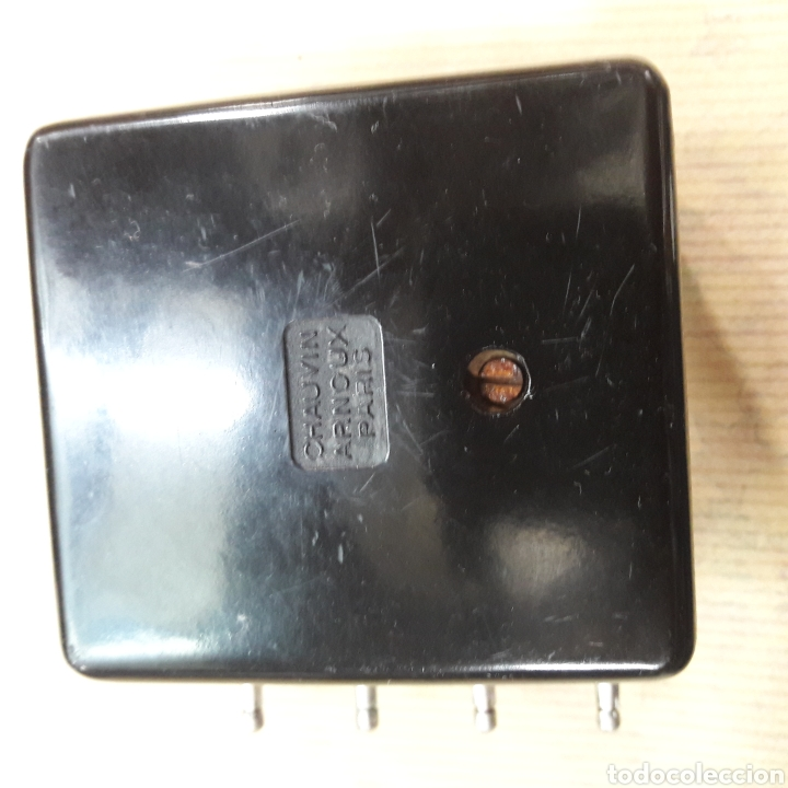 Antigüedades: ANTIGUO MALETÍN ELECTRICIDAD CHAUVIN ARNOUX PARIS ÚTILES Y MÁQUINAS INDUSTRIALES BILBAO - Foto 4 - 117757211