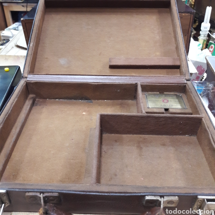 Antigüedades: ANTIGUO MALETÍN ELECTRICIDAD CHAUVIN ARNOUX PARIS ÚTILES Y MÁQUINAS INDUSTRIALES BILBAO - Foto 6 - 117757211