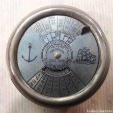 Antigüedades: CURIOSO CALENDARIO PERPETUO. Lote 118875968