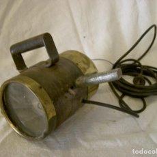 Antigüedades: FOCO DE SEÑALES ELECTRICO DE BARCO. Lote 117765515