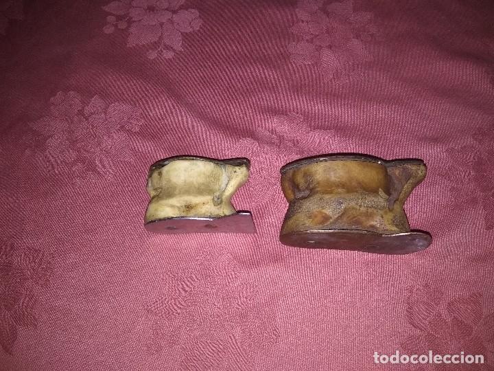 Antigüedades: Lote de 2 piezas de huesos humanos - Foto 2 - 118103947