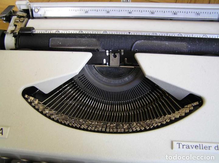 Antigüedades: MAQUINA DE ESCRIBIR OLYMPIA TRAVELLER DE LUXE CON SU MALETIN TYPEWRITER. - Foto 47 - 118228207