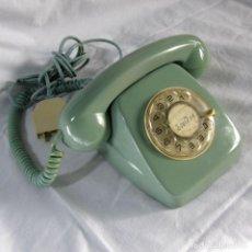 Teléfonos: TELÉFONO DE SOBREMESA CTNE COLOR AZUL VERDOSO ORIGINAL. Lote 207882181