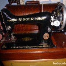 Antigüedades: ANTIGUA MAQUINA DE COSER DE LA MARCA SINGER. COMO NUEVA, SIN USO. . Lote 118369875