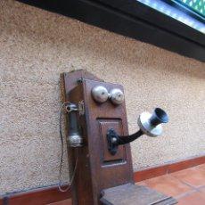 Teléfonos: ANTIGUO TELEFONO AMERICANO DE GRAN TAMAÑO DE LA MARCA STROMBERG-CARLSON, CHICAGO.. Lote 118462639