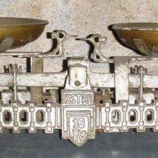 Antigüedades: BALANZA ANTIGUA ASTRA. Lote 118483891