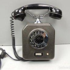 Teléfonos: IMPRESIONANTE TELÉFONO DE METAL VINTAGE DE PARED EXCELENTE PIEZA DE DECORACIÓN RARO. Lote 118504319