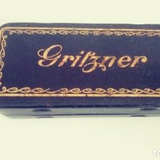 Antigüedades: GRITZNER. LATA METAL MAQUINA DE COSER. Lote 118539359