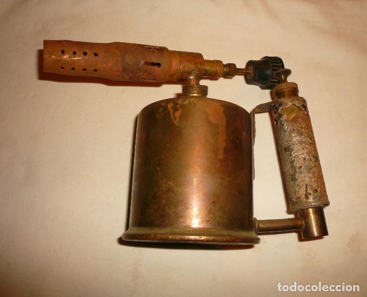 Antigüedades: SOLDADOR DE GASOLINA MARCA C.I.M.S.A. - Foto 2 - 118558599