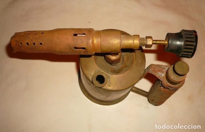 Antigüedades: SOLDADOR DE GASOLINA MARCA C.I.M.S.A. - Foto 5 - 118558599