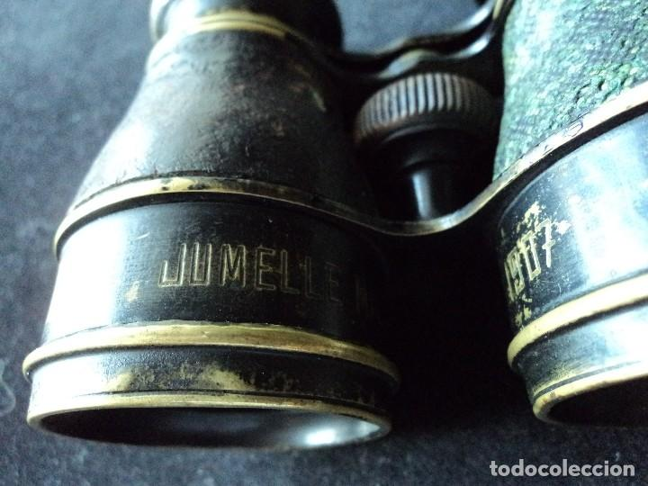 Antigüedades: ANTIGUO BINOCULAR CHEVALIER OPTICIEN jumelle militaire modelle 1907 - Foto 6 - 118606419