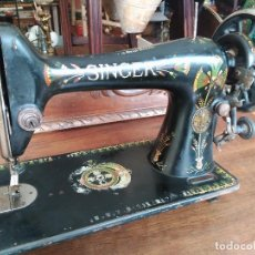Antigüedades: ANTIGUA MAQUINA DE COSER SINGER. Lote 118849131