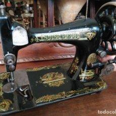 Antigüedades - Antigua maquina de coser Singer - 118849159