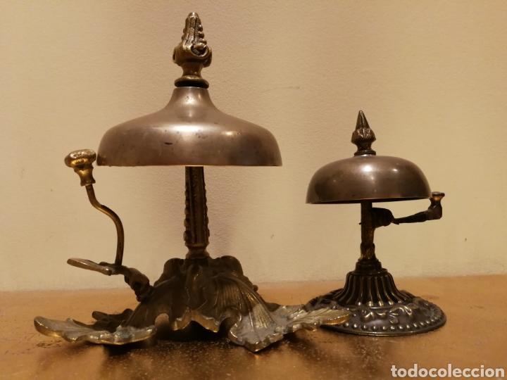 TIMBRE DE HOTEL GRANDE (Antigüedades - Técnicas - Cerrajería y Forja - Llamadores Antiguos)