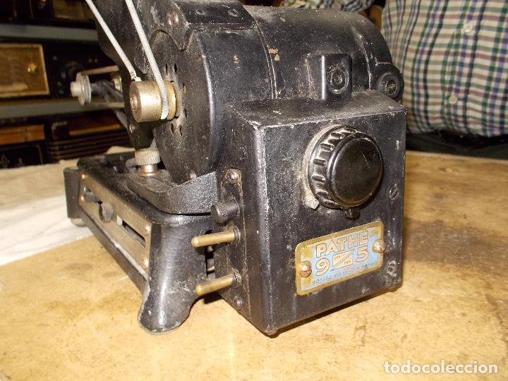 Antigüedades: proyector pathe - Foto 16 - 118936527