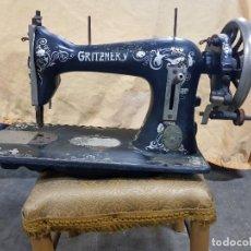 Antigüedades: ANTIGUA MAQUINA DE COSER GRITZNER. Lote 118958339