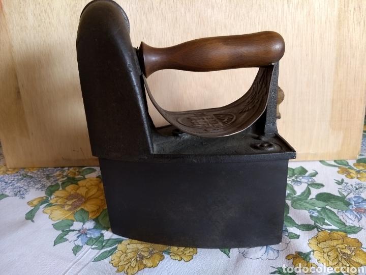 Antigüedades: PLANCHA ANTIGUA DE CHIMENEA - Foto 2 - 118985311