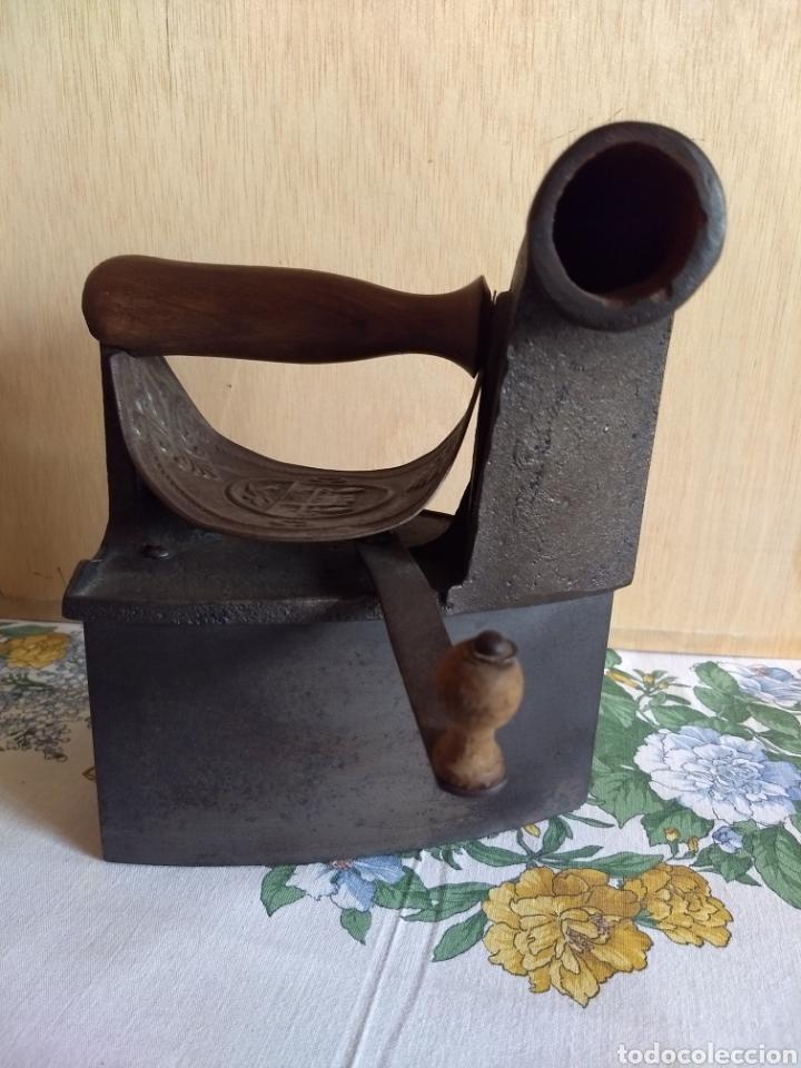 Antigüedades: PLANCHA ANTIGUA DE CHIMENEA - Foto 3 - 118985311