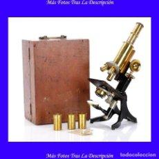 Antigüedades - Microscopio Antiguo Swift & Son. Inglaterra, Circa 1920 - 119007623