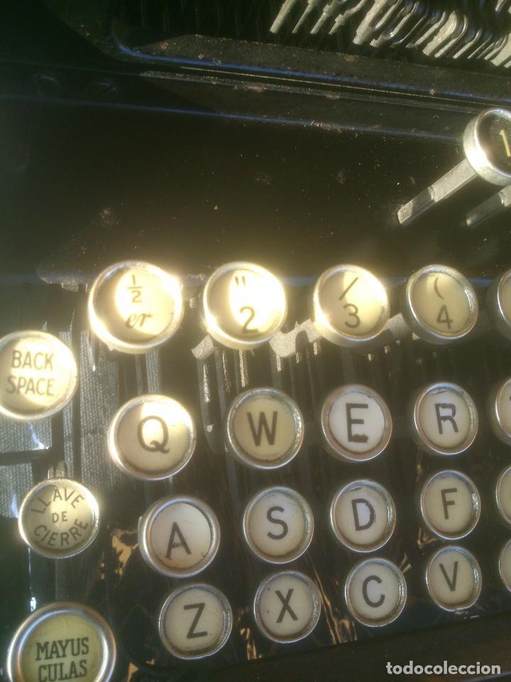 Antigüedades: Antigua maquina de escribir YOST - Foto 12 - 119053359