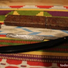 Antigüedades: NAVAJA DE AFEITAR/ BARBERO JAGUAR + CAJA. Lote 119202415