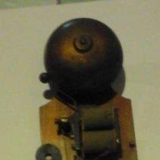 Antigüedades: ANTIGUO TIMBRE ELÉCTRICO. MADERA Y METAL. Lote 119204216