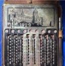 Antigüedades: ANTIGUA CALCULADORA MANUAL DE LA EXPOSICIÓN INTERNACIONAL DE BARCELONA DE 1929. PIEZA DE MUSEO.. Lote 119212575