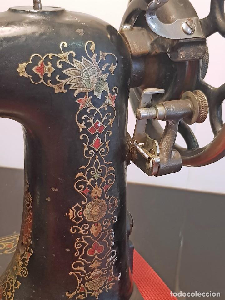 Antigüedades: ANTIGUA MAQUINA DE COSER - ROTARY NEW HOME - Foto 10 - 119352579