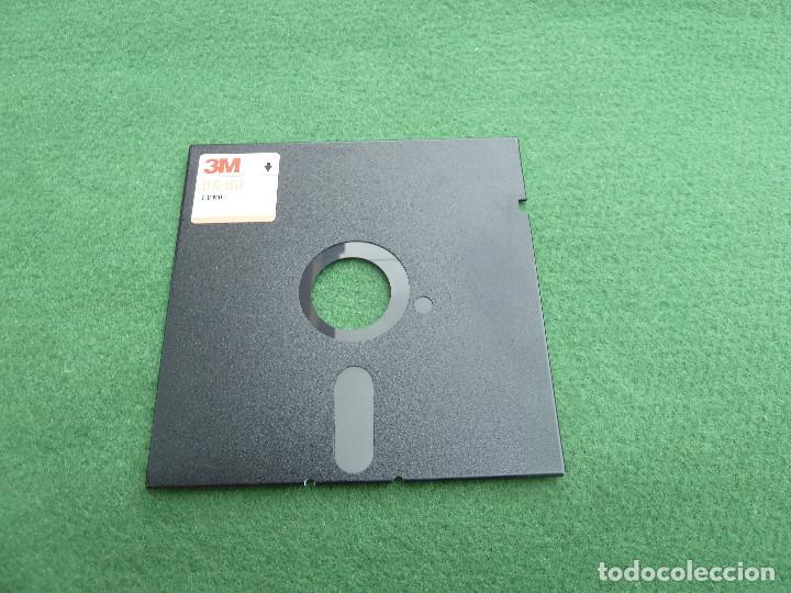 Antigüedades: Disquete de 5,25 pulgadas de la marca 3M - Foto 3 - 119355423